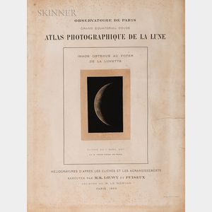 Maurice Loewy (French, 1833-1907), Pierre-Henri Puiseux (French, 1855-1928)      Fourteen Plates from Atlas Photographique de la Lune