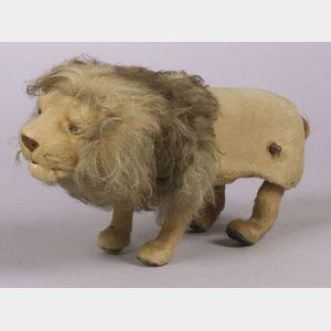 Roullet et Decamps Pouncing Lion Automaton