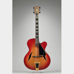 American Archtop Guitar, Ted Beringer, Billings, 1994
