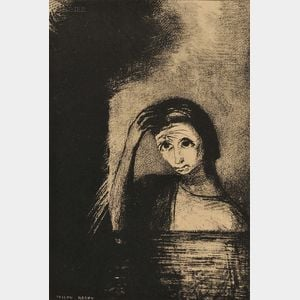 Odilon Redon (French, 1840-1916)      Les Débacles (Frontispice)