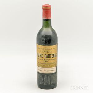 Chateau Brane Cantenac 1957, 1 bottle