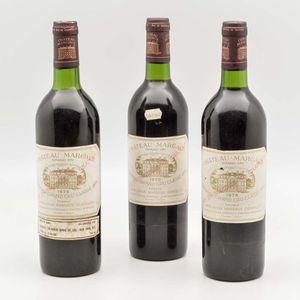 Chateau Margaux 1975, 3 bottles