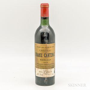 Chateau Brane Cantenac 1964, 1 bottle