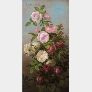 Anna Eliza Hardy (American, 1839-1934)      Roses