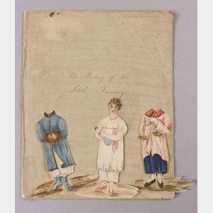 Handwritten Manuscript The History of Little Fanny