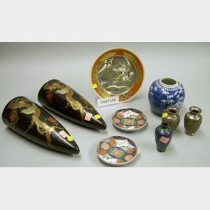 Eleven Pieces of Asian Decorative Arts Items
