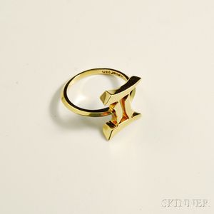 Cartier 18kt Gold Ring