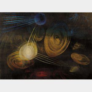 Harry Bertoia (American, 1915-1978)      Untitled.