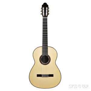 Spanish Classical Guitar, Antonio Marin Montero, Granada, 2013