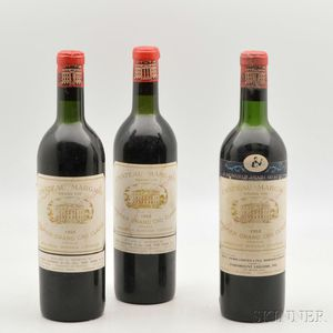 Chateau Margaux 1959, 3 bottles