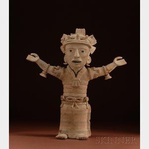 Pre-Columbian Pottery Figure