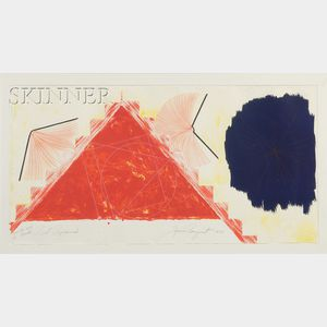 James Rosenquist (American, b. 1933)      Red Pyramid