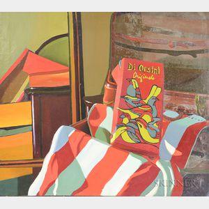 Richard Sheehan (American, 1953-2006)      Still Life with Di Orsini Originals Shoe Box