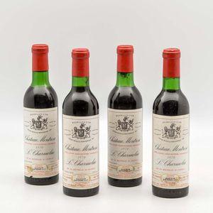 Chateau Montrose 1970, 4 demi bottles