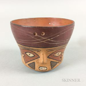 Pre-Columbian Painted Pottery Vessel