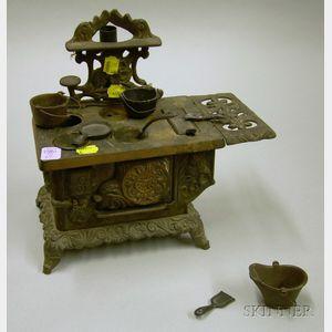 Cast Iron Toy Stove.