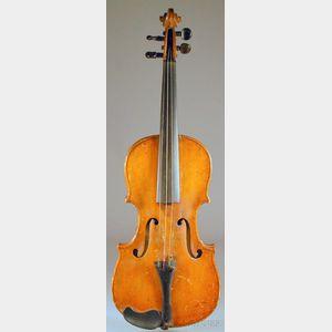 Saxon Violin, c. 1800