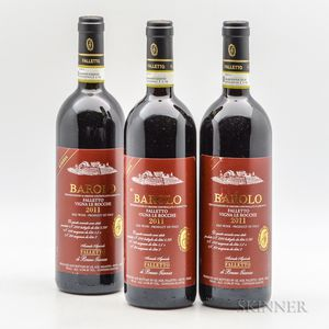 Bruno Giacosa Barolo Riserva Falletto Vigna le Rocche 2011, 3 bottles