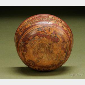 Pre-Columbian Polychrome Bowl