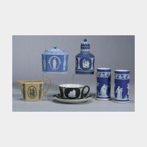 Six Assorted Wedgwood Items