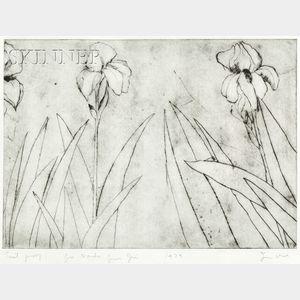 Jim Dine (American, b. 1935)      Plate Four