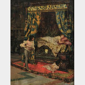 Salvatore Frangiamore (Italian, 1853-1915)      The Broken Glass