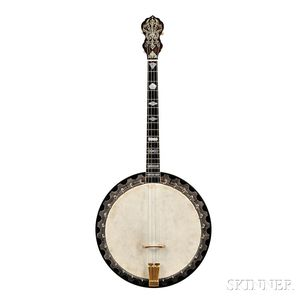 American Banjo, The Vega Company, Boston, 1925 Style X, No. 9