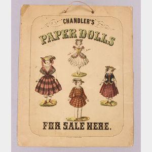 Rare Chandler's Paper Dolls For Sale Here