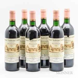 Vieux Chateau Certain 1990, 6 bottles