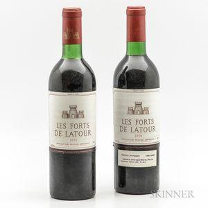 Forts de Latour 1970, 2 bottles