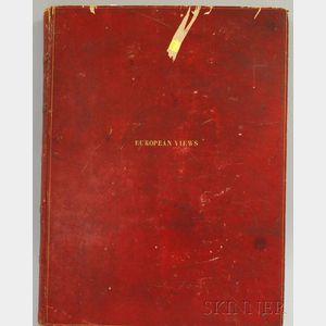 Assembled Folio of 19th Century Prints