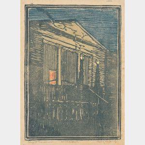 Eliza Draper Gardiner (American, 1871-1955)      Athenaeum