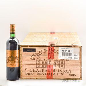 Chateau dIssan 2005, 10 bottles