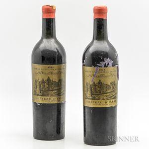 Chateau dIssan 1934, 2 bottles