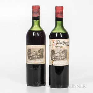 Chateau Lafite Rothschild 1955, 2 bottles