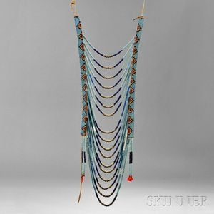 Plains/Plateau Beaded Loop Necklace