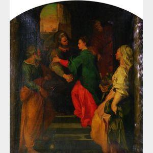 After Federico Barocci (Italian, 1526-1612)    Visitation