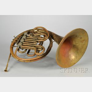 American French Horn, Carl Geyer, Chicago, 1958