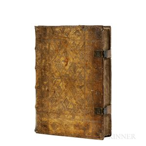 Bible, Latin, ed. Nicolas de Lyra (c. 1270-1349) Secunda pars Lyre.
