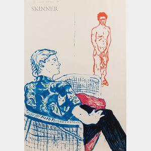 David Hockney (British, b. 1937)      Joe with David Harte