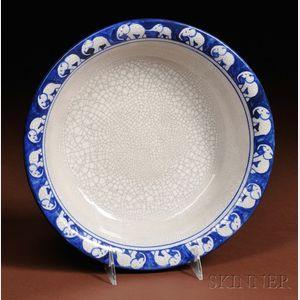 Dedham Pottery Elephant Bowl