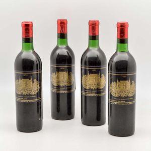 Chateau Palmer 1970, 4 bottles