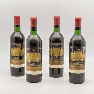 Chateau Palmer 1966, 4 bottles