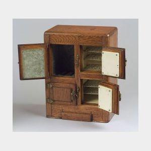 Salesman's Sample Icebox