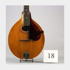 American Mandolin, Gibson Mandolin-Guitar Company, Kalamazoo, 1916