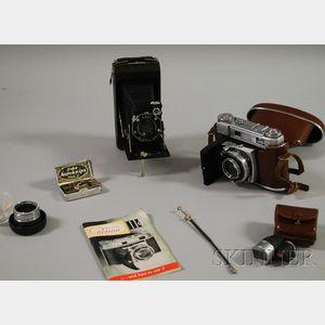 Kodak Retina III C and a Kodak Junior Six-20 Folding Camera