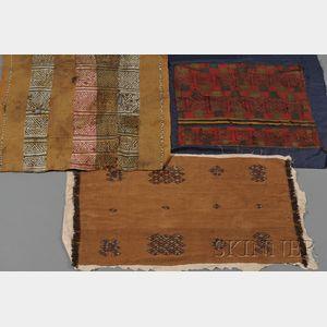 Three Pre-Columbian Textiles