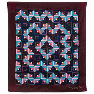 "Mennonite ""Log Cabin"" Quilt"
