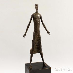 Continental School, 20th Century      Standing Figure
