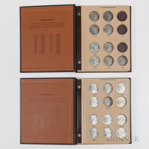 Forty-two Morgan Dollars